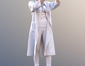 Laura 10442 - Working Doctor 3D asset