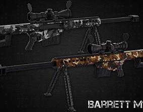 Barrett m82a1 3D asset
