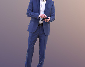 Lars 10426 - Standing Business Man 3D model