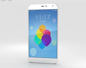 3D Meizu MX3 White