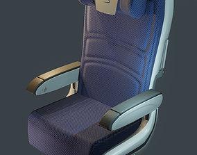 3D model CHRISTMAS SALE - British Airway Economy Seat
