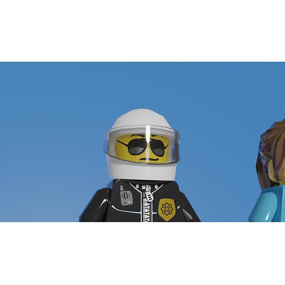 LEGO police minifigures