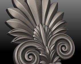 Carved decor 3D printable model