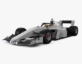3D noname Generic Super Formula One car 2020