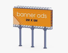 advertising Billboard 2 3D