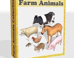 farm animals mammal 3D asset