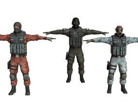 sawt police 3D model