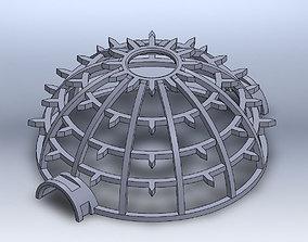 Peach Shield 3D printable model