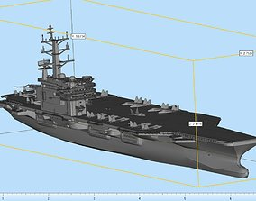3D print model Aircraft Carrier Highly Detailed