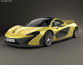 McLaren P1 2014 3D model