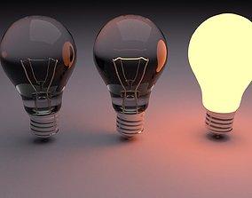 Bulbs 3D model light