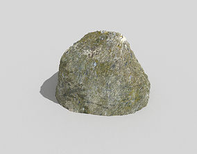 Detailed Rock 3D model game-ready