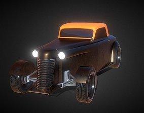 Moskvich a Russian Hot Rod Car 3D model