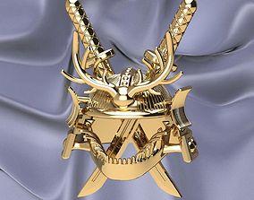 3D printable model Samurai Helmet-Custom