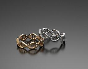 Ring dna 3D print model