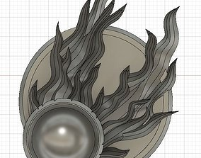 Twin Tailed Comet of Sigmar badge 3D print model