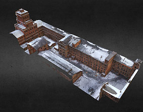 Old Abandoned Factory street scan 3D model
