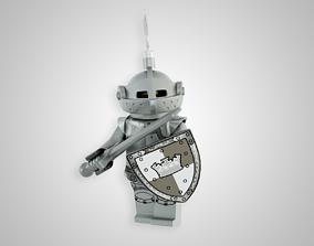 3D asset Heroic Knight
