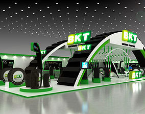 28x10Mtr Exhibition stand 3D model