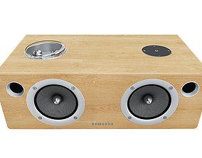 3D model Samsung DA-E750 Dock speaker