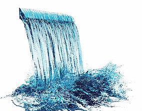 3D Waterfall 4