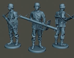 German soldier ww2 Stand Guard G4 3D printable model