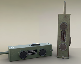 3D asset Old Walkie Talkie