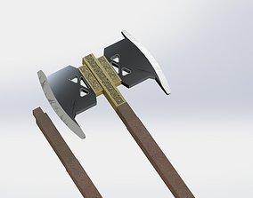 Gimli Battle Axe- Lord Of The Rings- LOTR -3D Print model