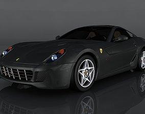 Ferrari 599 GTB 3D model low-poly