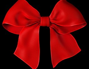 3D asset Ribbon bow