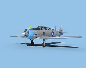 3D North American AT-6 Texan V08 ROCAF