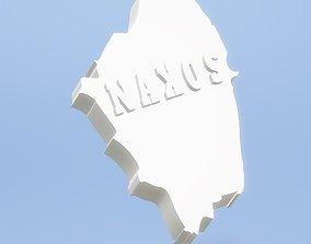 NAXOS ISLAND GREECE 3D print model