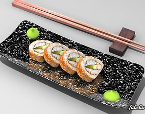 California maki roll 3D model