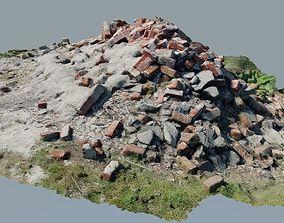 3D asset Pile of Rubble 1 - Photo-Realistic