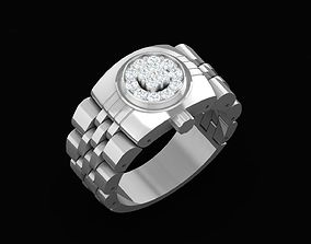 RING 4145 Beautiful Watch Ring 3D print model
