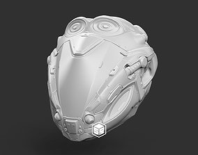 3D print model Sci-Fi Helmet