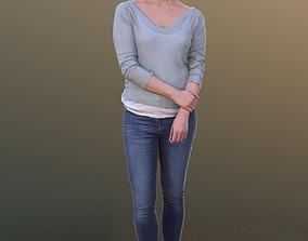 Bao 10280 - Standing Casual Woman 3D asset