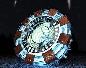 Arc Reactor 3D model marvel
