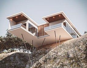 Hill House 01 3D model