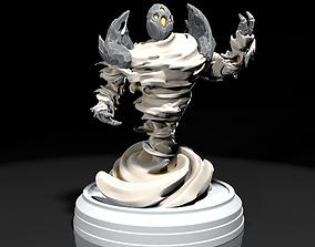 Air Elemental 3D print model sculptures