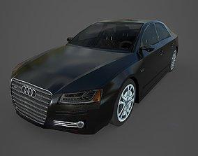 Audi A8 3D model VR / AR ready
