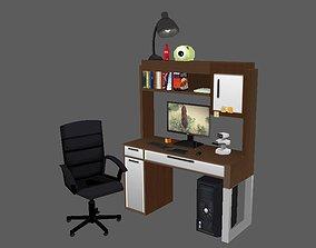3D model Low Poly Desktop