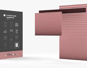 3D model Pleaded Blind Generator HDA