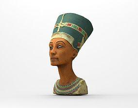 3D model Bust of Queen Nefertiti