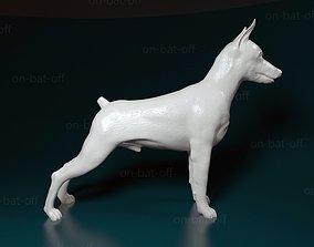 3D printable model miniature Zwergpinscher