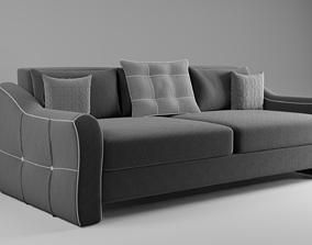 3D Flatford sofa matting gray