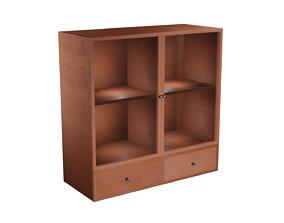 Cupboard Game-Ready 3D model