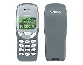 Mobile Phone Nokia 3210 3D model