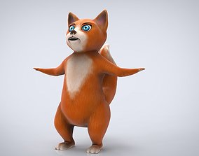 3D model art CARTOON CAT