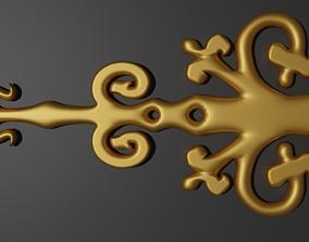 Metal Carving art 3D